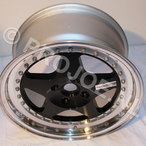 16″  3 piece speedline wheels