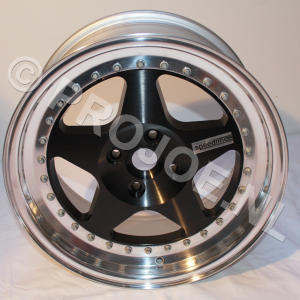 16″ Lancia Delta Integrale 3 piece speedline wheels