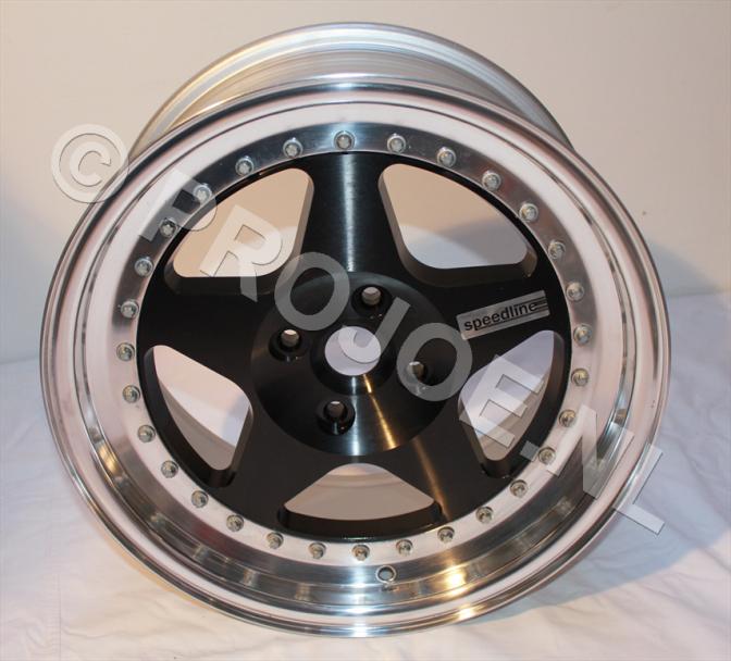 """16"""" Lancia Delta Integrale 3 piece speedline wheels"""