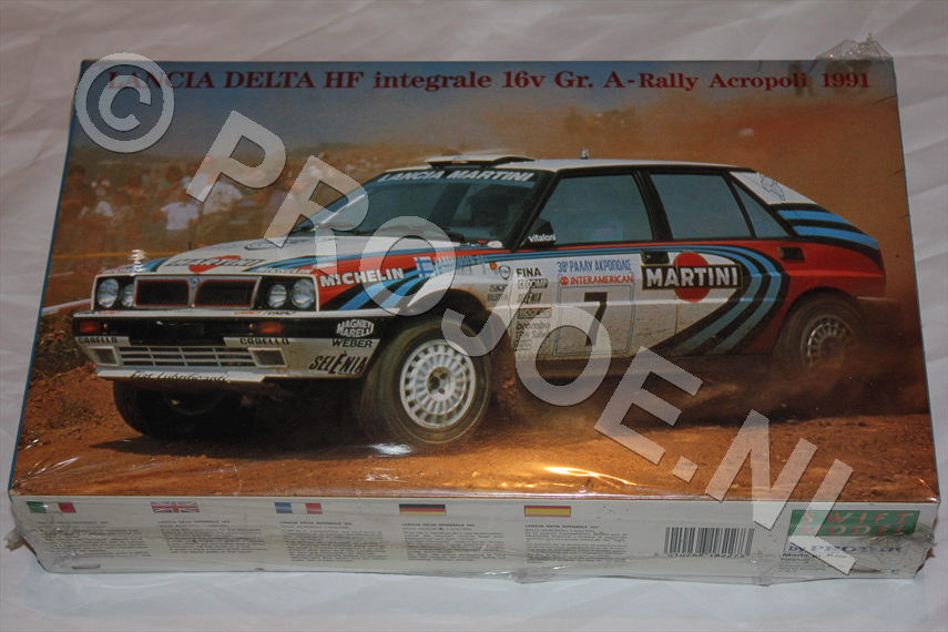 1:24 Lancia Integrale 16V Martini Kit