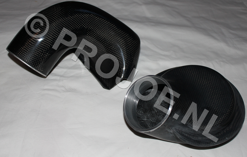 Abarth carbon air intake system - 72mm