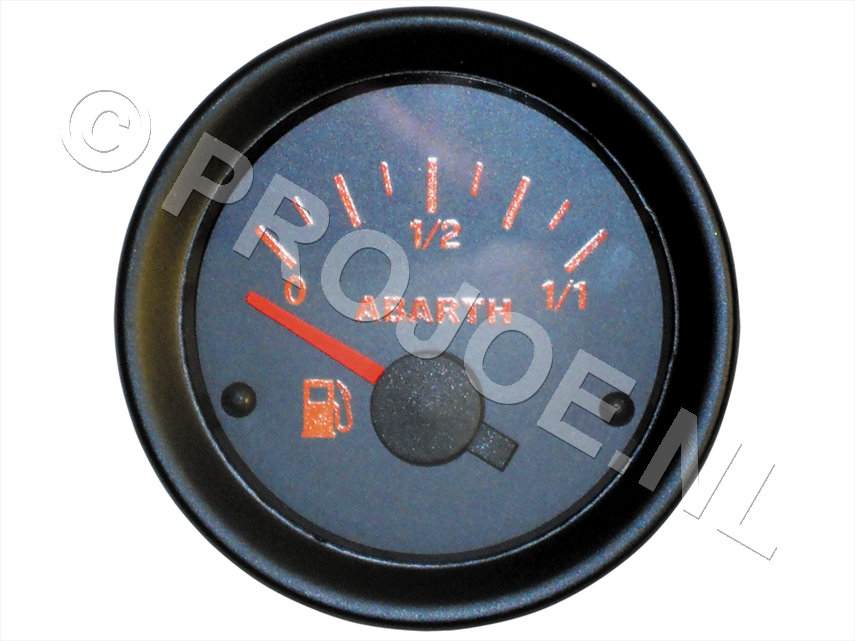 Abarth fuel level cauge 52mm