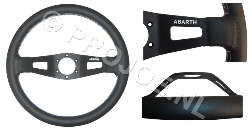Abarth steering wheel |
