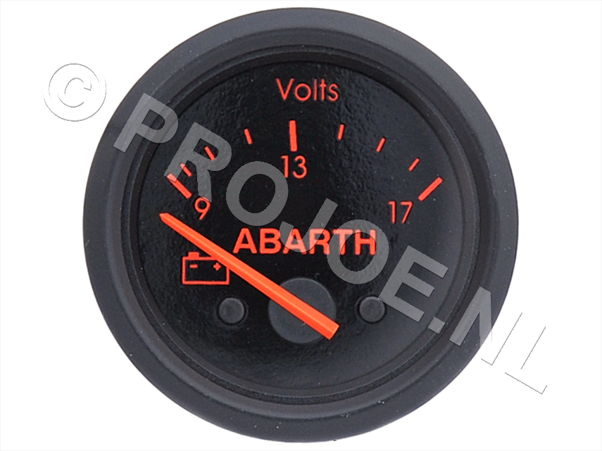 Abarth volt meter 52mm