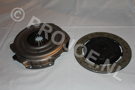 Lancia Delta Integrale 8V uprated clutch with Kevlar plate