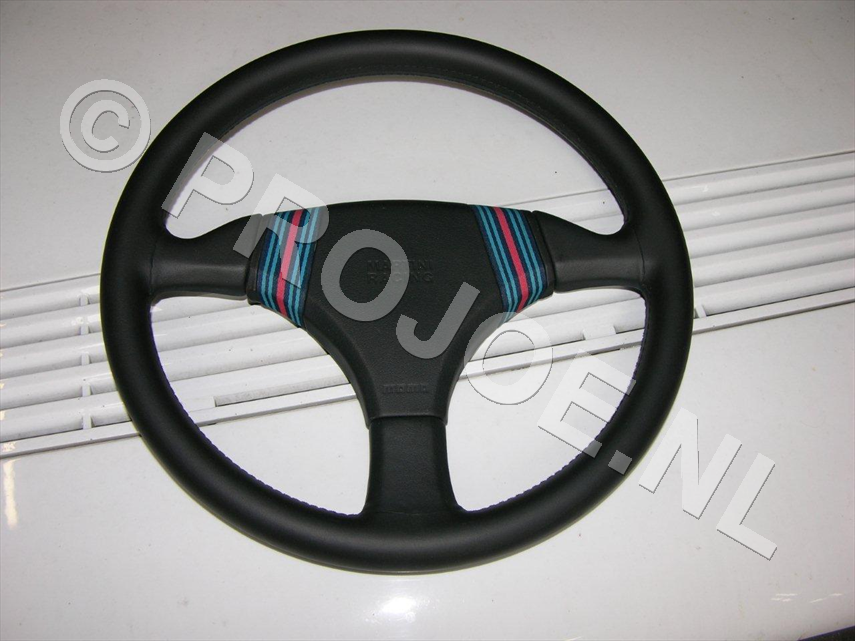 Lancia Delta Integrale Martini steering wheel