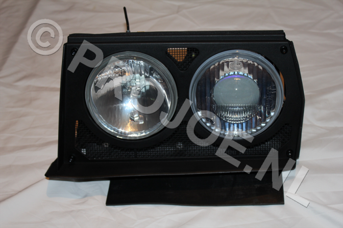 Lancia Evo headlight unit left side