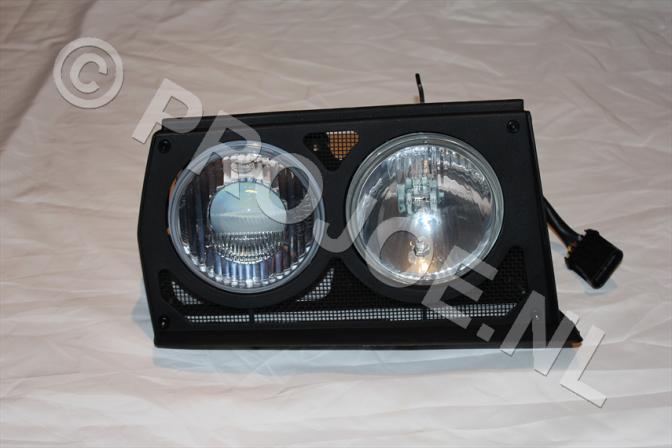 Lancia Evo headlight unit right side