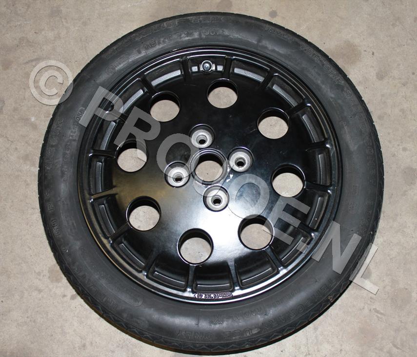 Lancia Integrale spare wheel