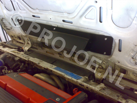 under bonnet heat extractor for Evo