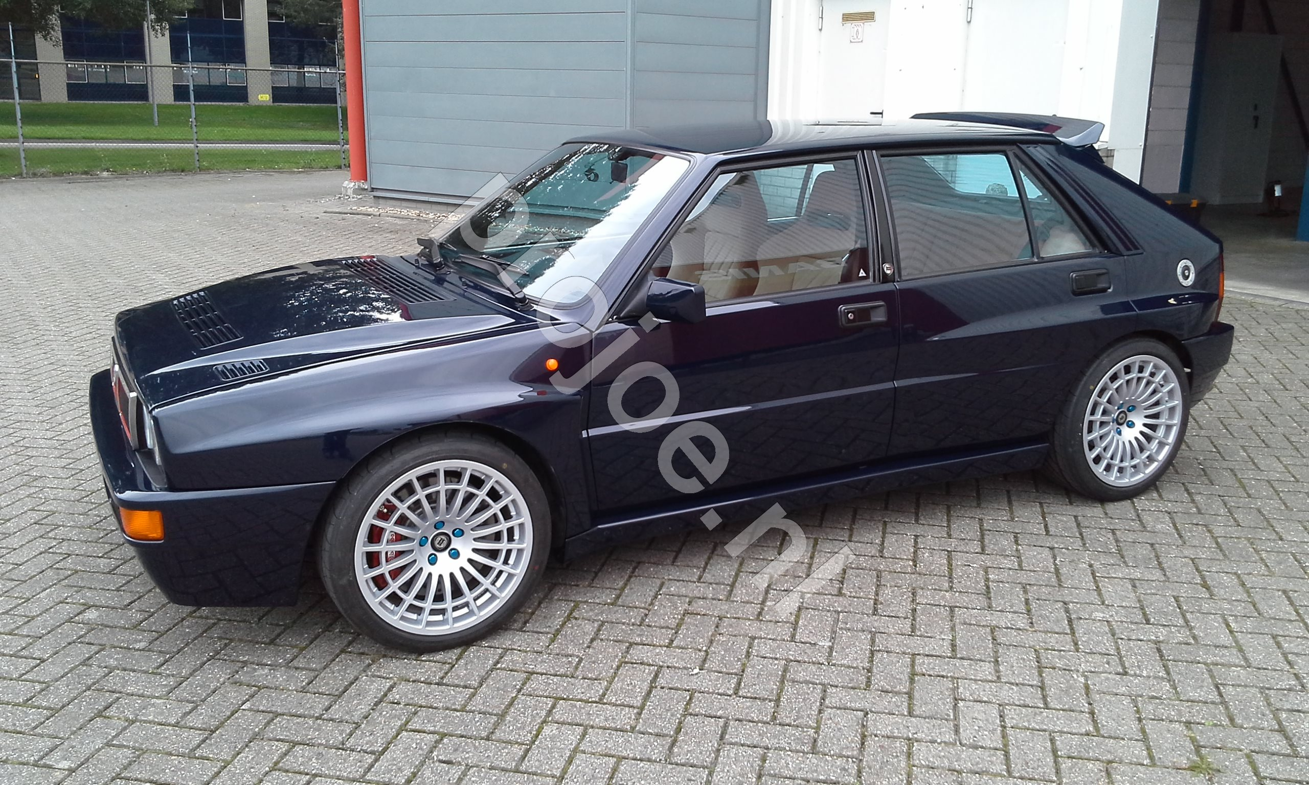 lancia delta integrale evo 2 lord blue for sale sold. Black Bedroom Furniture Sets. Home Design Ideas