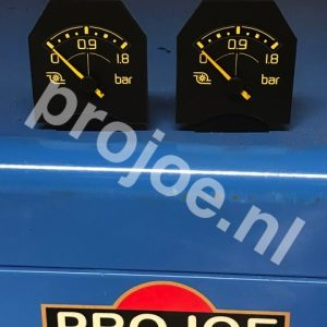 Lancia Delta Integrale and Evo 1,8 Bar turbo gauge-manometer