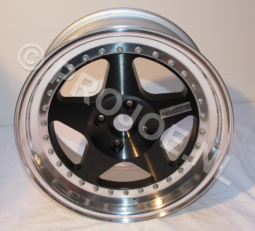 "16"" Lancia Delta Integrale 3 piece speedline wheels"