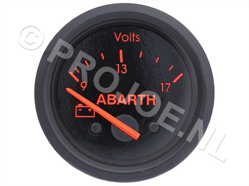 Abarth volt meter 52mm
