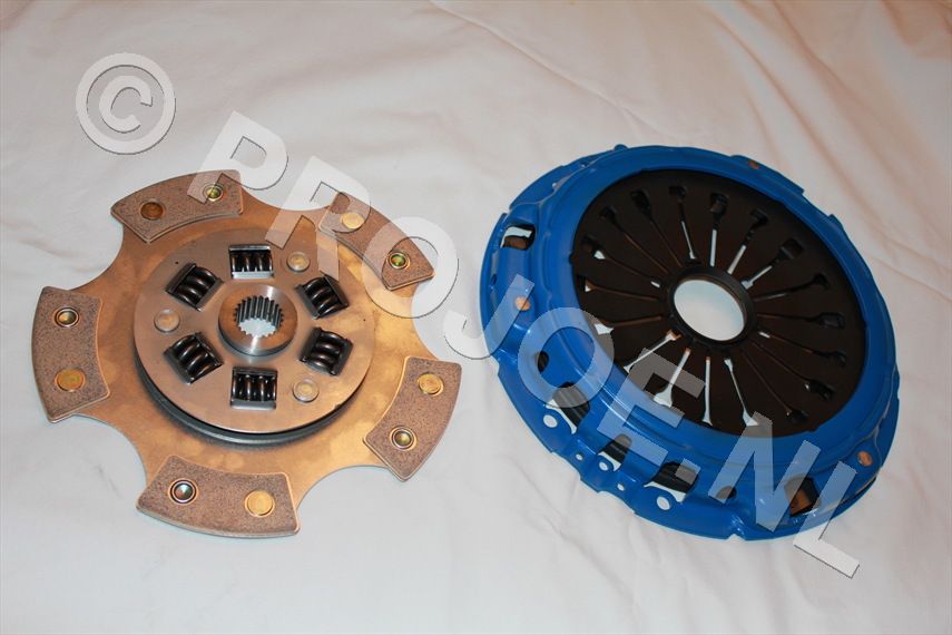 Lancia Delta Integrale 16V and Evo uprated paddle clutch kit
