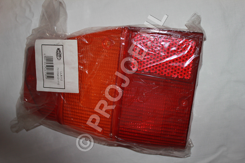 Lancia Delta Integrale rear light glass