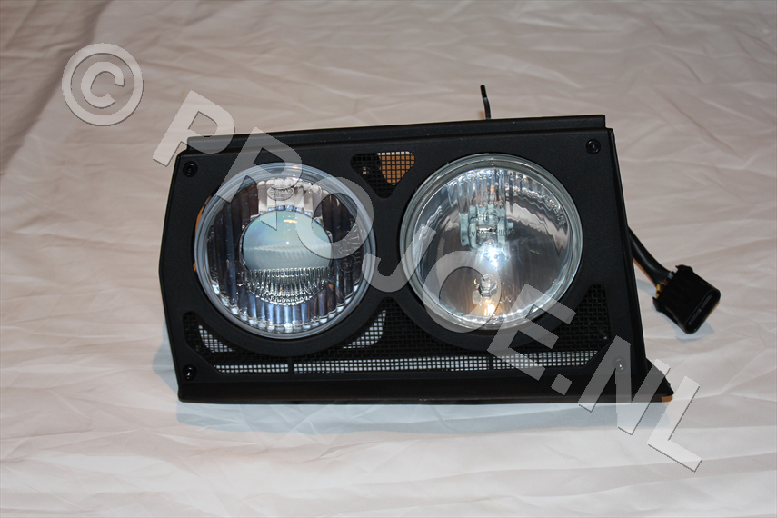 Lancia Evo headlight unit right side