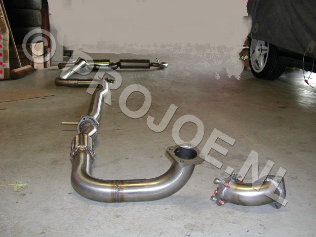 stainless steel 70mm exhaust system