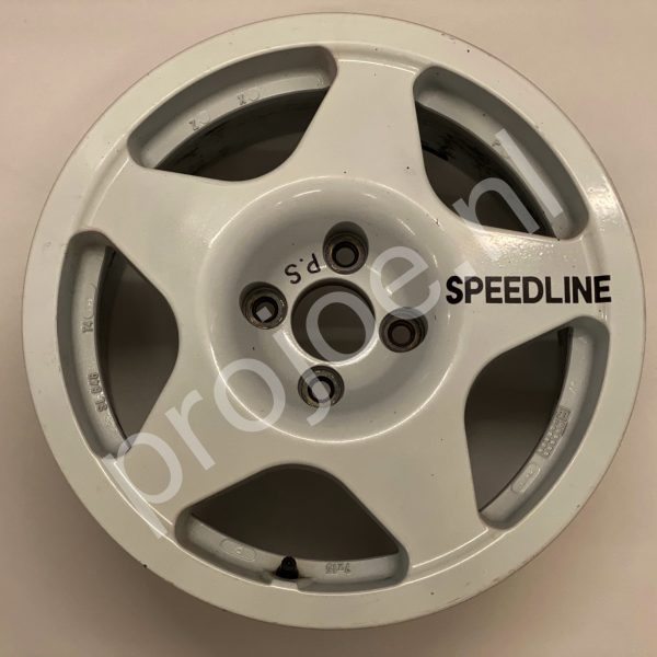 Lancia Delta Integrale  15 x 7 magnesium Speedline motorsport wheels