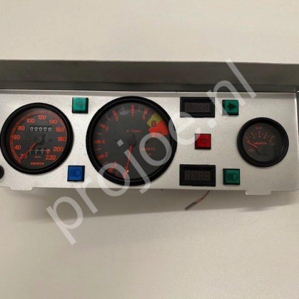 Lancia Delta Integrale Gr A  Abarth dash