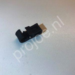 Lancia Delta Integrale /Evo windscreen wiper water pipe and bonnet cable plastic clip