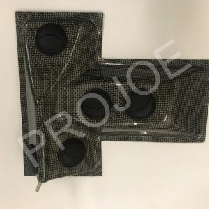 Lancia Delta Integrale Evo  carbon roof vent system – inside part
