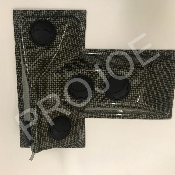 Lancia Delta Integrale Evo  carbon roof vent system – inside part