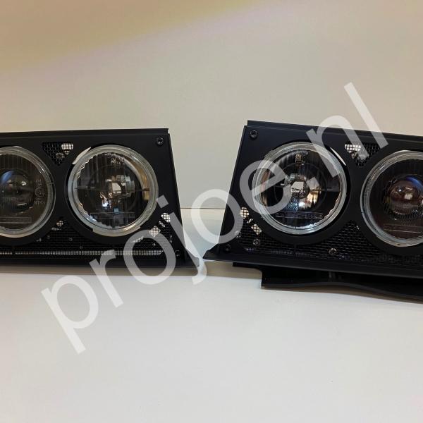 Lancia Delta Integrale Evo headlights  Black Edition