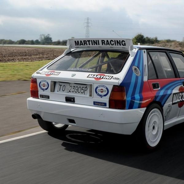 Martini Racing spoiler sticker – decal – rear side – Black