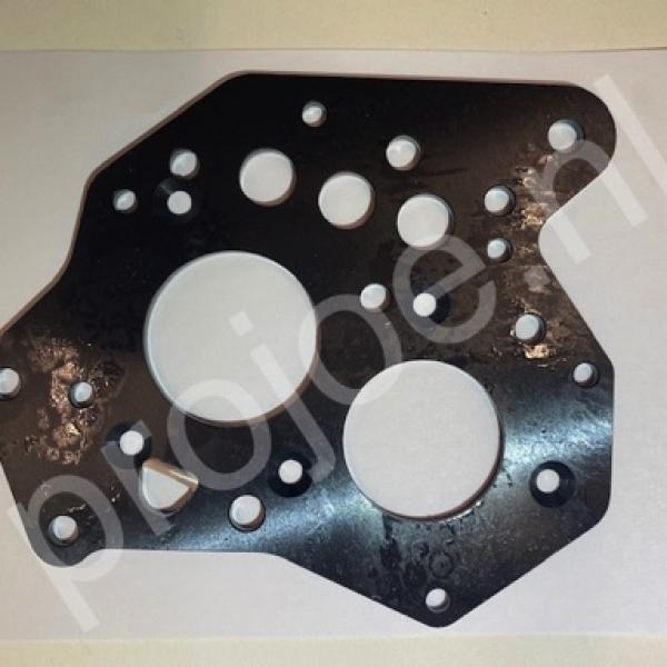 Lancia Delta Integrale reinforcement plate – 5th gear side