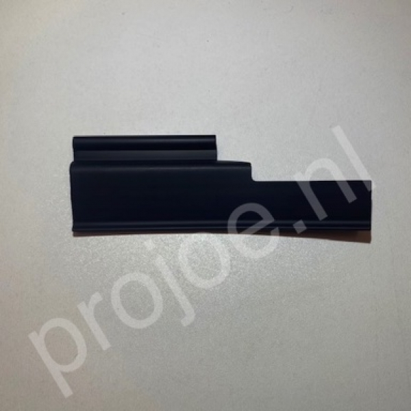 Lancia Delta Integrale and Evo engine bay plastic corner bracket right side