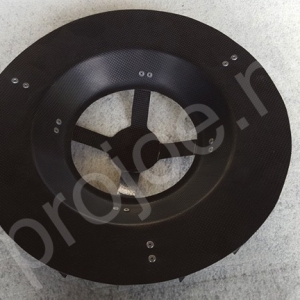 Carbon brake cooler for 15″ and 16″