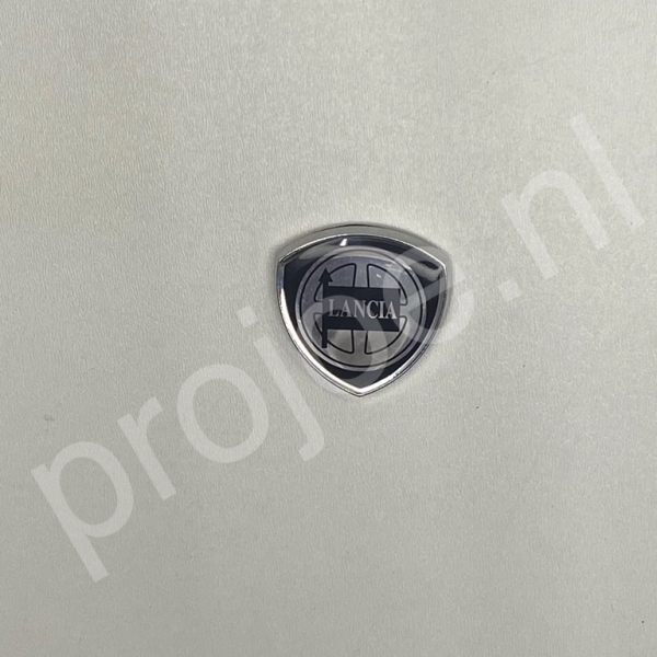 Lancia Delta Integrale B pillar logo – badge – emblem – shield