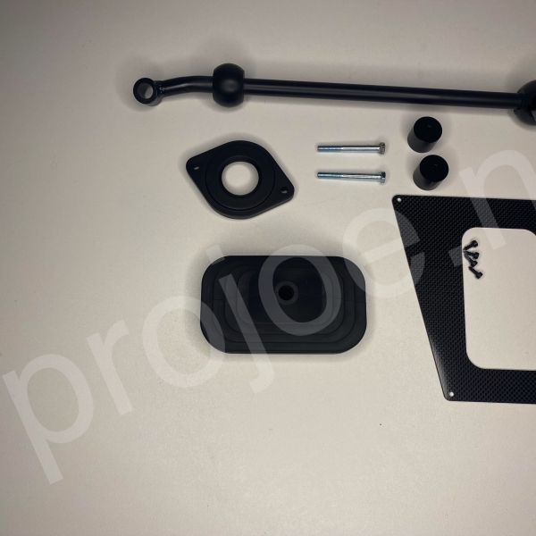 Lancia Delta Integrale Final Edition quick shift + gear lever joint cover plate