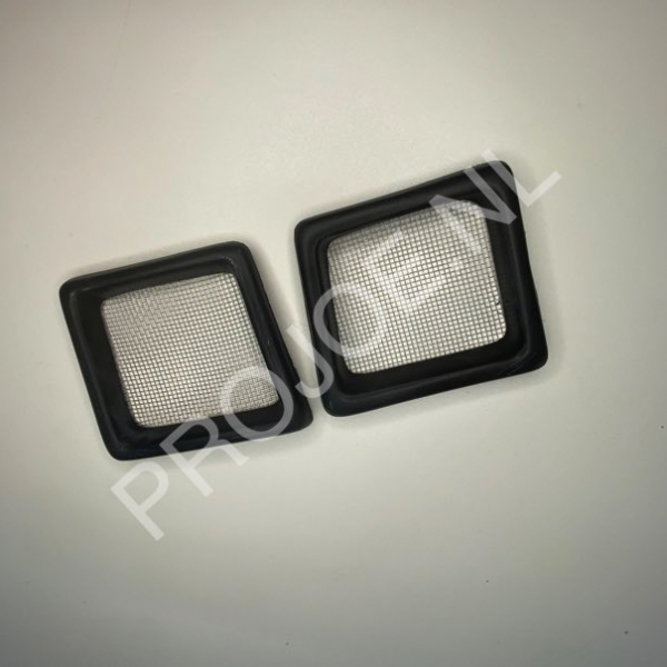 polyester bumper air inlets EVO